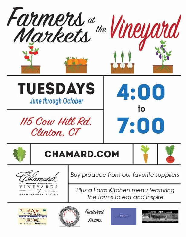 Farmers Markets at the Vineyard