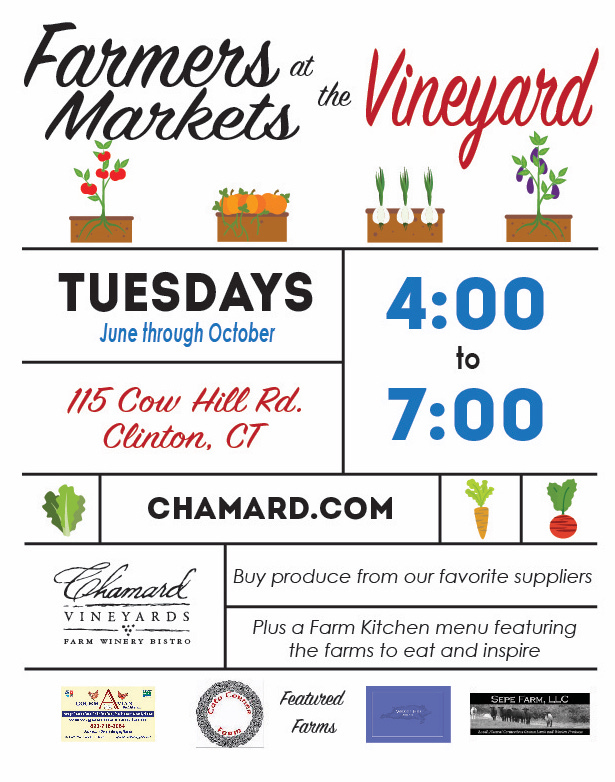 Farmers Markets at the Vineyard